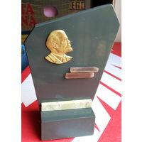 Ленин на мраморе. Плакетка.
