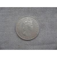 Бермудские острова: 1 крона 1964 год серебро