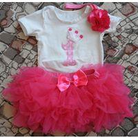 Праздничный наряд для принцессы на 1 годик