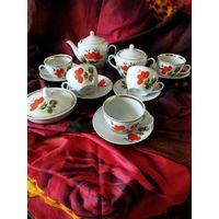 Чайный сервиз на 5 персон, Полонное, 80-ые годы