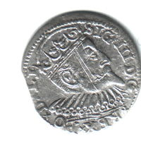 3 гроша Рига 1599г