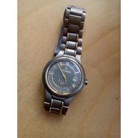 """Оригинальные швейцарские титановые часы """"Romanson"""" исправны с 1 рубля без мц!!!"""