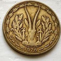 Западная Африка (BCEAO) 25 франков, 1976 3-1-27