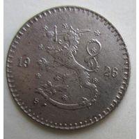 Финляндия. 25 пенни 1926.  5-284