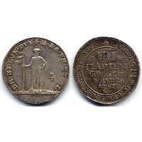 4 мариенгроша 1787 C, Германия, Брауншвейг-Вольфенбюттель. Штемпельный блеск, коллекционное состояние