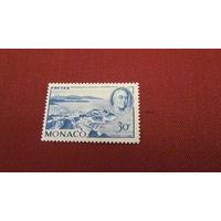 Монако 1946г. 1-я годовщина смерти Франклина Д. Рузвельта, 1892-1945