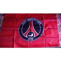 Флаг футбольной команды PARIS SAINT-GERME.  распродажа