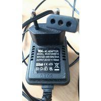 Блок питания адаптер MCDC120015TJ5  для электрических насосов Intex Quick-fill (Intex Quick-Fill Electric Pump)