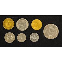 Монеты Азии  - лот2