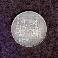 Чехия. 100 лет первого авто в Богемии. 200 кр. 1997 г.
