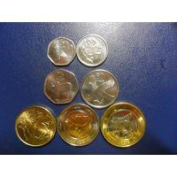 Ботсвана 7 монет одним лотом