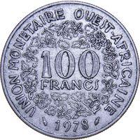 Западная Африка 100 франков 1978
