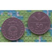 Латвия 50 центов 1992 года. Инвестируй в монеты планеты!