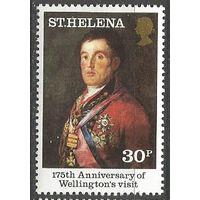 Остров Св. Елены. 175 лет визита герцога Веллингтона. 1980г. Mi#332.