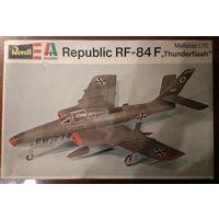 1/72 Revell Italaerei Cat# H-2003 1977 год выпуска  RF-84F Thunderflash - см описание