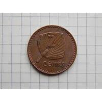 Лот #73: 2 цента 1986 Фиджи