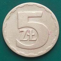 5 злотых 1976 ПОЛЬША