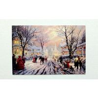 Tomas Kinkade.  A Victorian Christmas Carol.  Живопись. Россия. 2017 г.