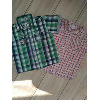 Рубашки летние красивые 2 шт(цена за лот)