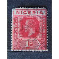 Нигерия. Король Георг V. 1914/27 г.г.