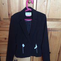 Bershka пиджак размер S, черный новый без этикетки