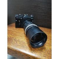 Фотоаппарат ЗЕНИТ с объективом SoligoRf=250mm 1:4,5. 62