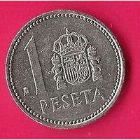 39-13 Испания, 1 песета 1985 г.