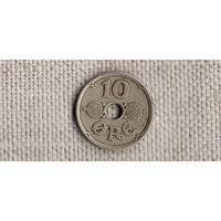 Дания 10 оре / эре 1928//FV/