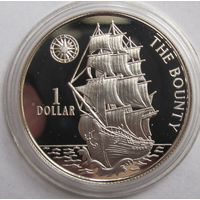 Ниуэ, доллар, 1996, серебро, пруф