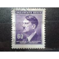 Богемия и Моравия 1942 фюрер 60г