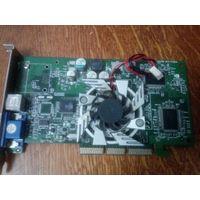 Видеокарта AGP GeForce MX440 DDR 64MB+TVout