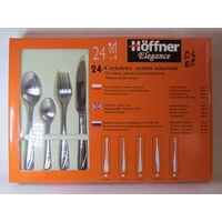 Набор столовых приборов Hoffner Elegance HF-7207, 24 предмета!