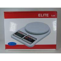 Кухонные электронные весы EliteLux от 3гр до 7кг, Новые!