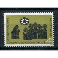 Австралия - 1966г. - Рождество - полная серия, MNH [Mi 383] - 1 марка