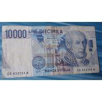 Италия 10000 лир