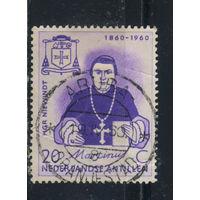 NL Колонии Нидерландские Антилы 1960 100 летие эпископа Ньювиндта #107
