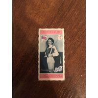 Доминикана. Мельбурн 1956. Фехтование