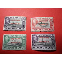 Фолклендские острова. Южные Шетландские острова. 1944.