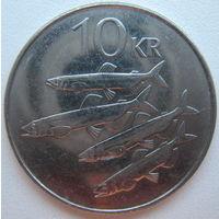 Исландия 10 крон 2008 г. (d)
