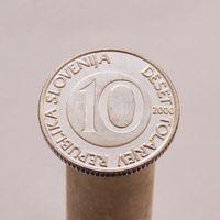 Словения 10 толаров 2000