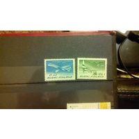 Самолеты, авиация, транспорт, техника, воздушный флот, марки, Финляндия, 1963
