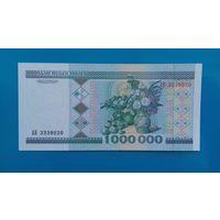 1000000 рублей 1999 года. Беларусь. Серия АВ. UNC-
