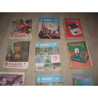 Журналы Радио разных годов