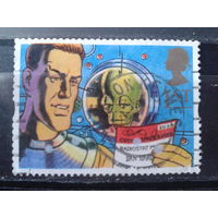 Англия 1994 Персонажи книги, космическая фантастика Михель-1,5 евро гаш