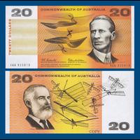 [КОПИЯ] Австралия 20 долларов 1966г.