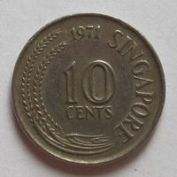 10 центов 1971 Сингапур