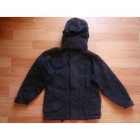 Куртка детская чёрная дождевик
