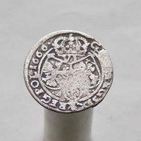 6 грошей 1666 Ян II Казимир Ваза