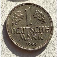 "Германия 1 марка, 1966 ""F"" - Штутгарт 5-2-23"