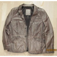 "Кожаная куртка-жакет ""MILESTONE"", 54-56р. XL"